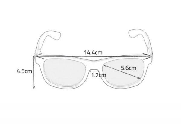 Okulary Shades L+ 2014/15 black / smoke lens