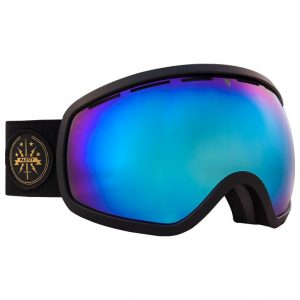 Gogle Majesty One11 2016/17 black matt/blue sapphire mirror