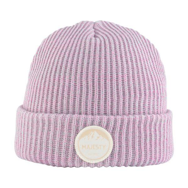 Czapka Classic Beanie pink / grey