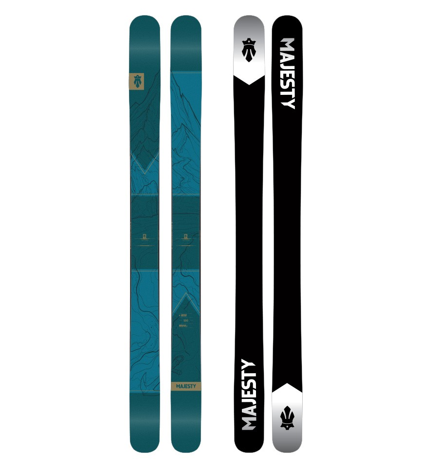 Powder is a Choice Freeride Ski Straps