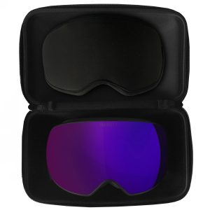 Magnetyczne Gogle Majesty The Force Spherical black frame / ultraviolet lens