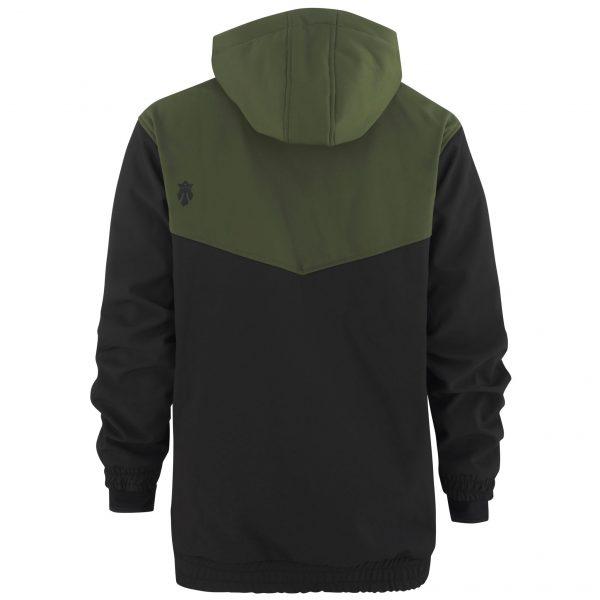 Softshell Anorak army green