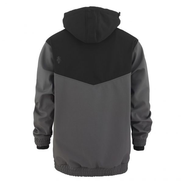 Softshell Anorak black / graphite
