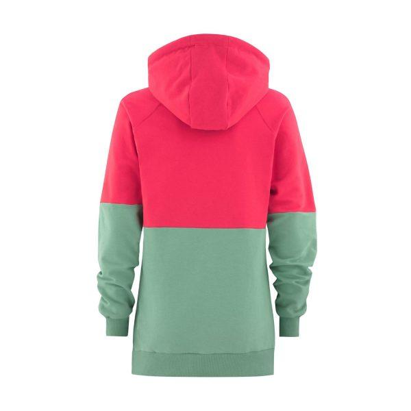 Flipside Lady Hoodie pink / mint