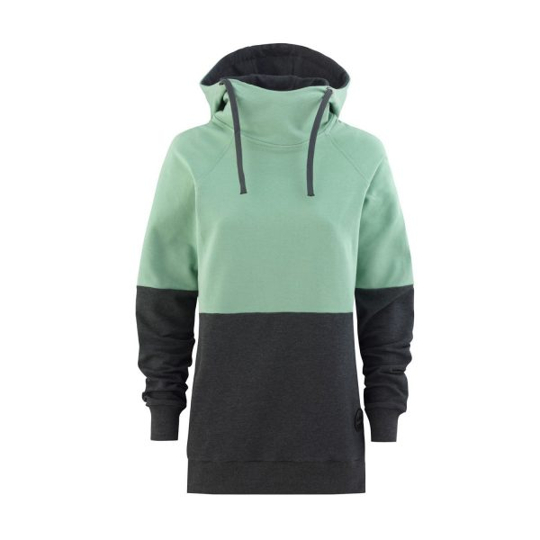 Flipside Lady Hoodie mint / graphite