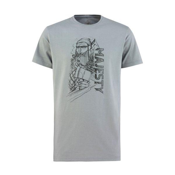 T-shirt Lumberjack grey
