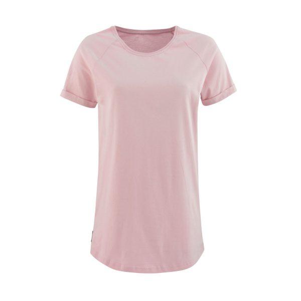 Lady T-shirt Velvet powder pink
